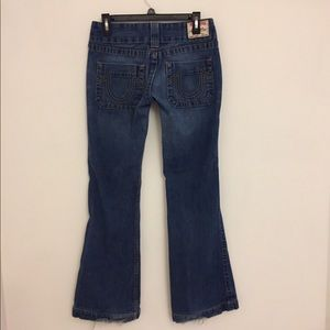 TRUE RELIGION: WIDE POCKET FLARE